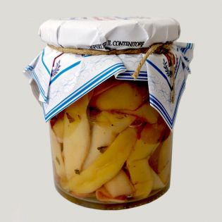 Carrubbara white beans - sicilian pickeld beans