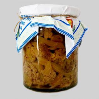 Nebrodi's  Cauliflower in oil
