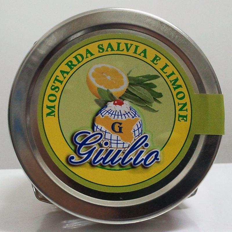 Mostarda spalmabile Salvia e Limone