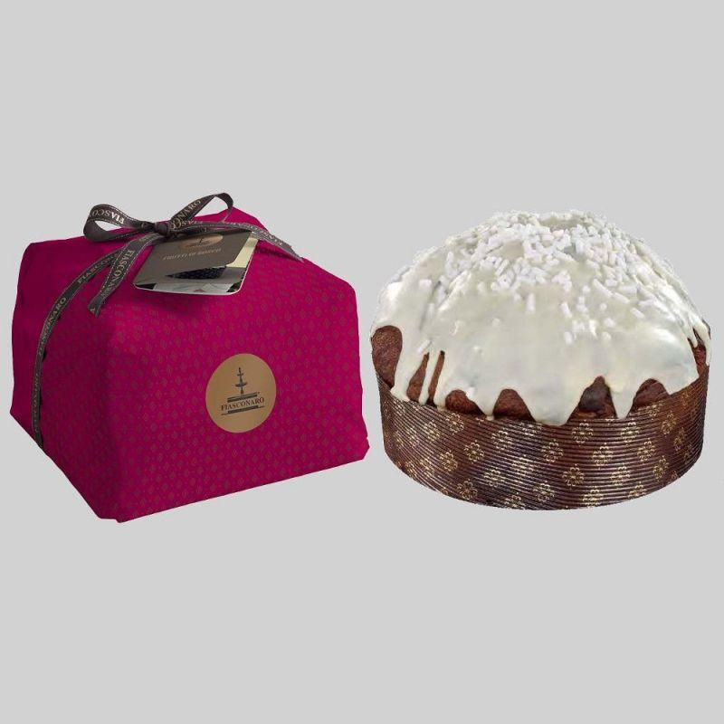 Panettone chocolate drops and william pear Fiasconaro