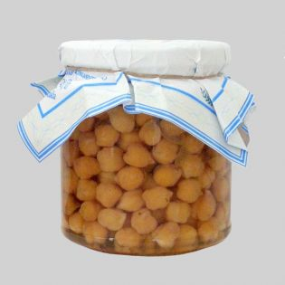Chickpeas in oil