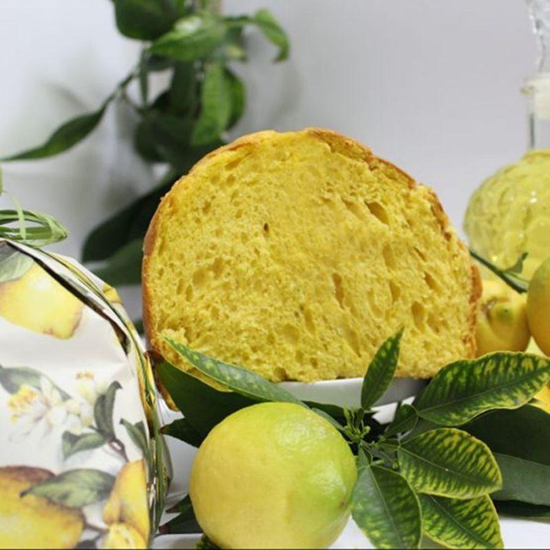 Don Limoncello - Sicilian Panettone flavored with lemon liqueur