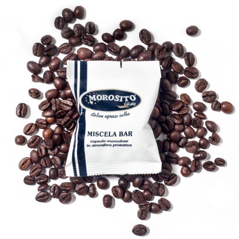100 Coffee Capsules Compatible with Lavazza A Modo Mio L'Èspresso BLU - Caffè Morosito