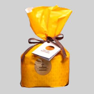 Panettone with candied Ananas and Apricot 500 grams Fiasconaro