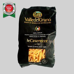 Caserecce - Pasta di semola di grano duro 100% siciliano