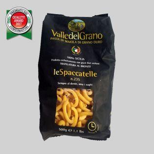 Spaccatelle - Pasta di semola di grano duro 100% siciliano