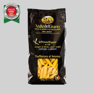 Penne Rigate - 100% Sicilian durum wheat semolina pasta
