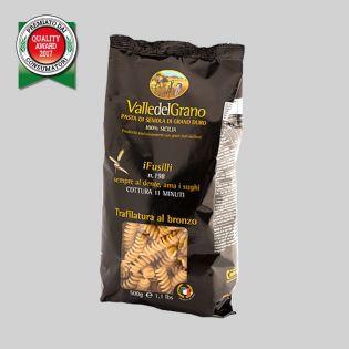Fusilli - Pasta di semola di grano duro 100% siciliano