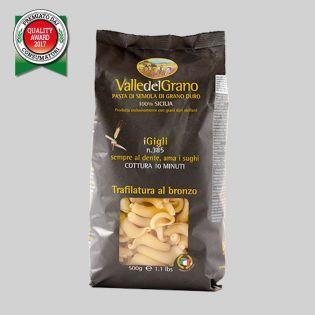 Gigli - Valle del Grano - Pasta di semola di grano duro 100% siciliano
