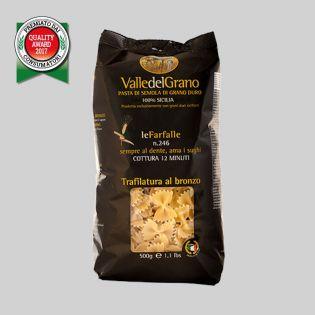 Farfalle - Valle del Grano - Pasta di semola di grano duro 100% siciliano