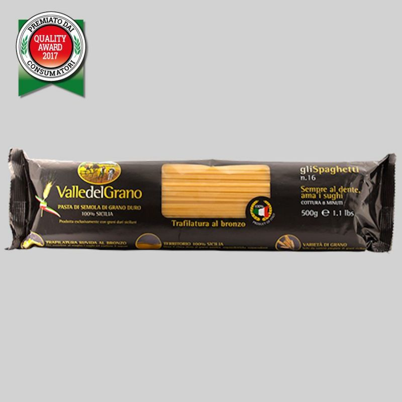 Spaccatelle - 100% Sicilian durum wheat semolina pasta