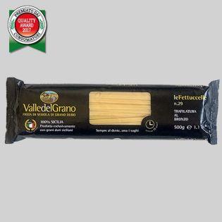 Fettuccelle - Valle del Grano - Pasta di semola di grano duro 100% siciliano