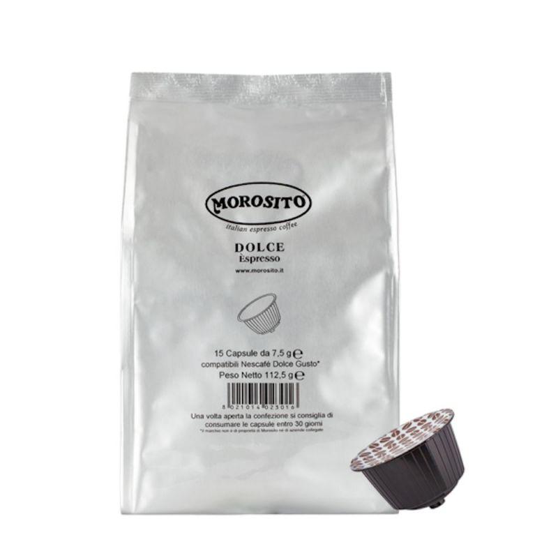 15 Dolce Espresso - Dolce Gusto Nescafè Morosito compatible capsules