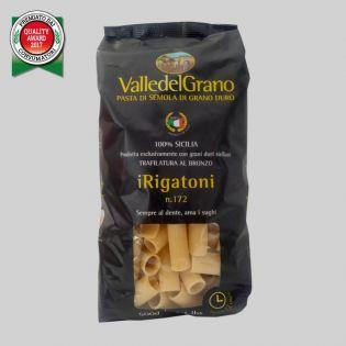 Rigatoni - Valle del Grano - Pasta di semola di grano duro 100% siciliano