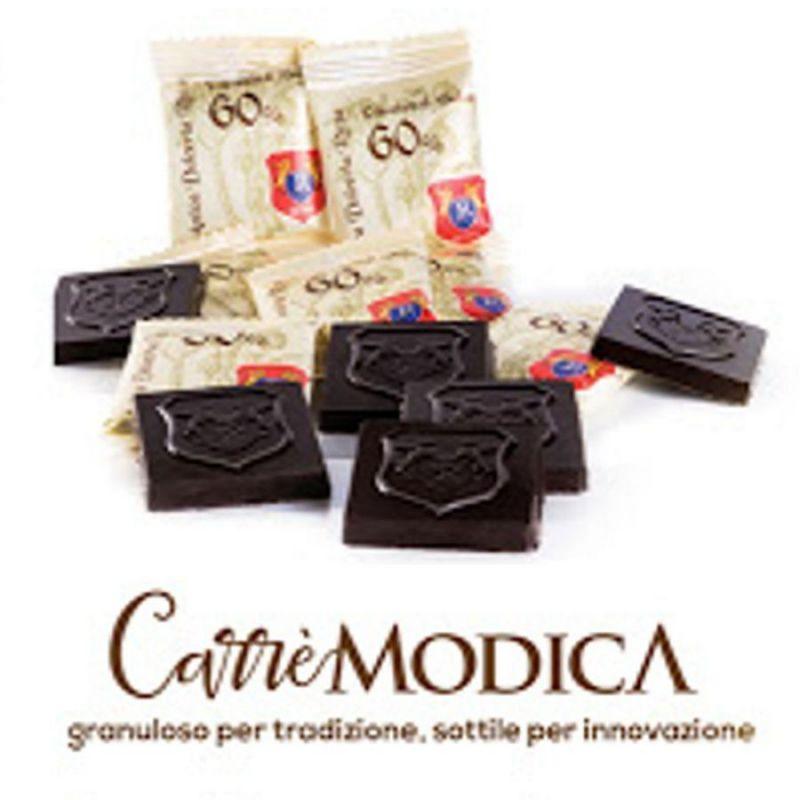 Carrè Modica - single portions Modica chocolate 60%