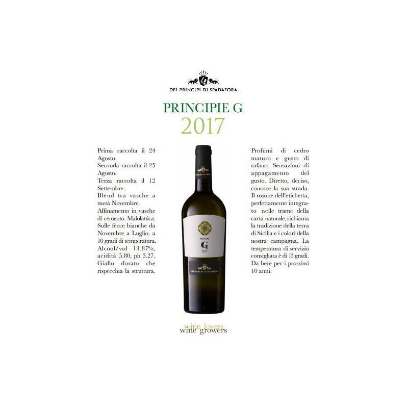 Grillo Organic White Wine 2017 - Az. Agr. Spadafora