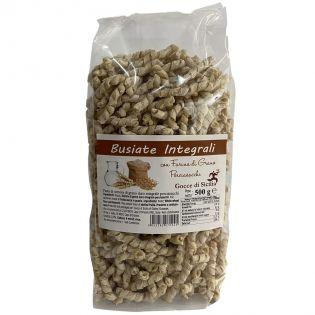 Whole Wheat Busiate Trapanesi - Traditional Sicilian pasta