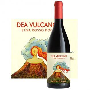 Dea Vulcano Etna Rosso DOC 2018 - red wine Donnafugata