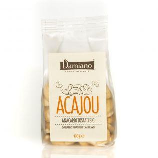 Organic Roasted Peeled Cashews