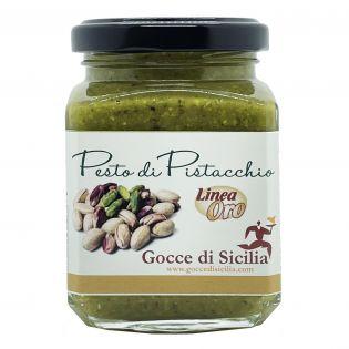 Pesto di Pistacchio Linea Oro Gocce di Sicilia