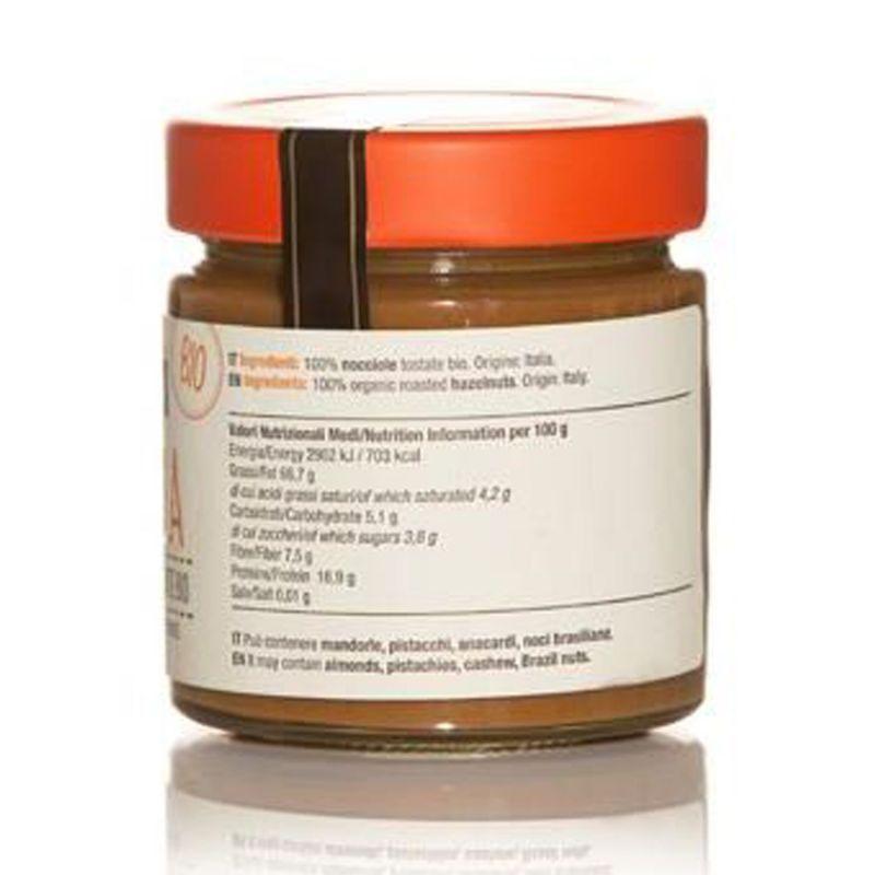 NOCCIOLA -  Toasted Organic Hazelnuts Cream