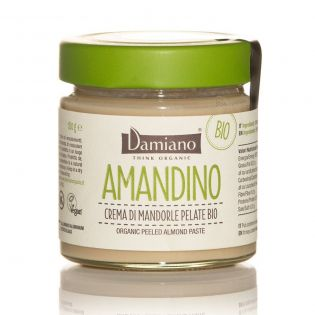 AMANDINO - Crema di Mandorle pelate Bio