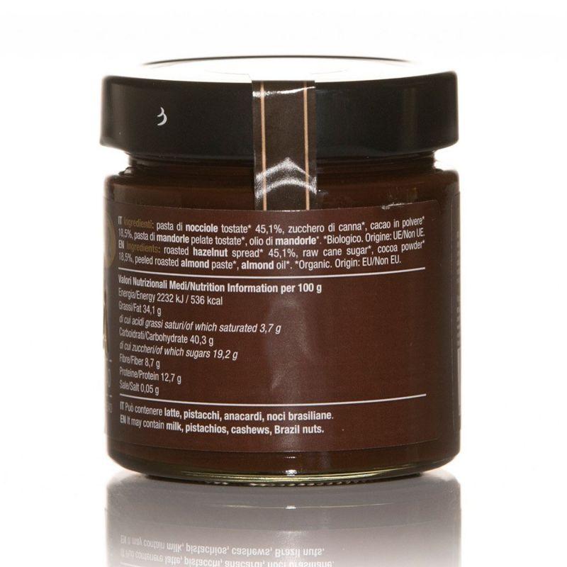 Chocobella Noir - Organic Cocoa and Hazelnut Cream