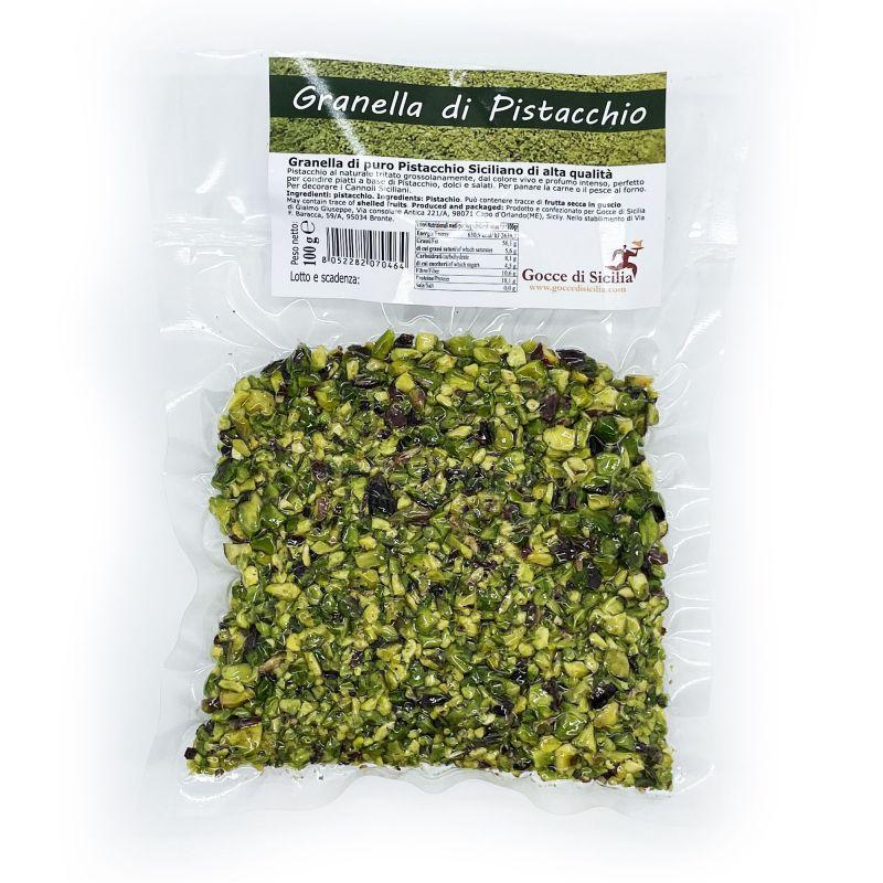 Sicilian Pistachio Granulated