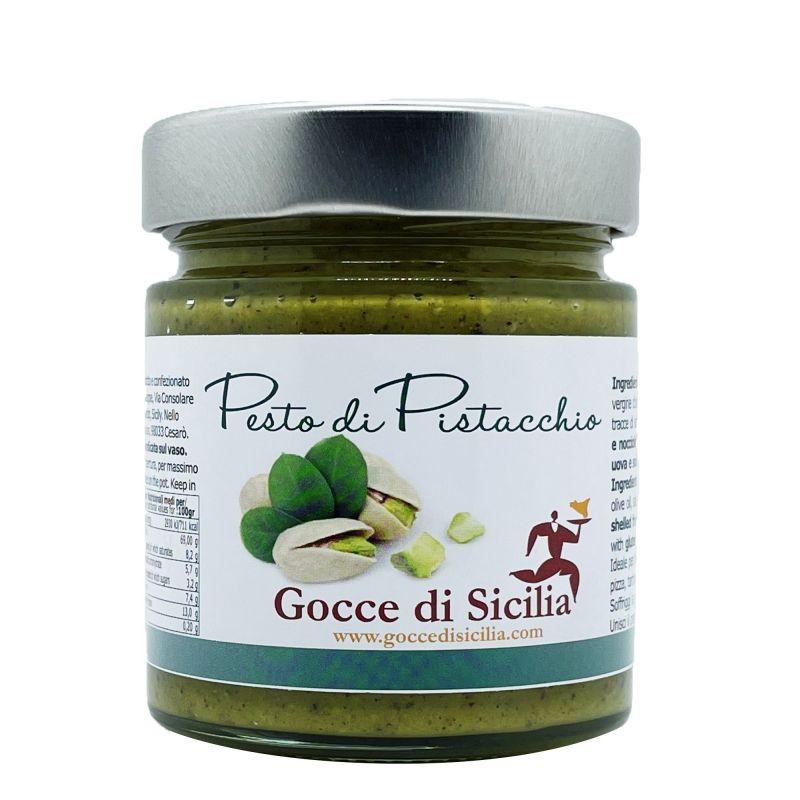 Pesto al Pistacchio con il 70% di pistacchi in olio evo