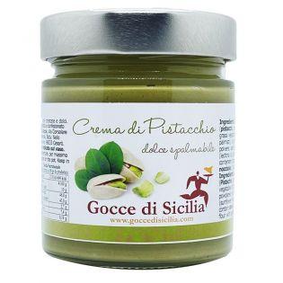 Crema dolce al Pistacchio - Gocce di Sicilia