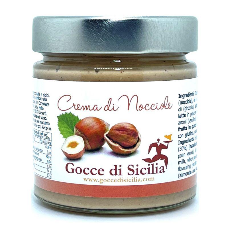 Cream with hazelnut spreadable