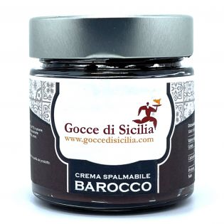 Crema spalmabile al cioccolato di Sicilia
