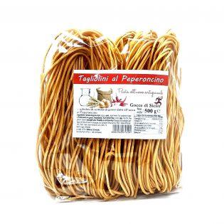 Tagliolini al peperoncino (Spaghetti chitarra)