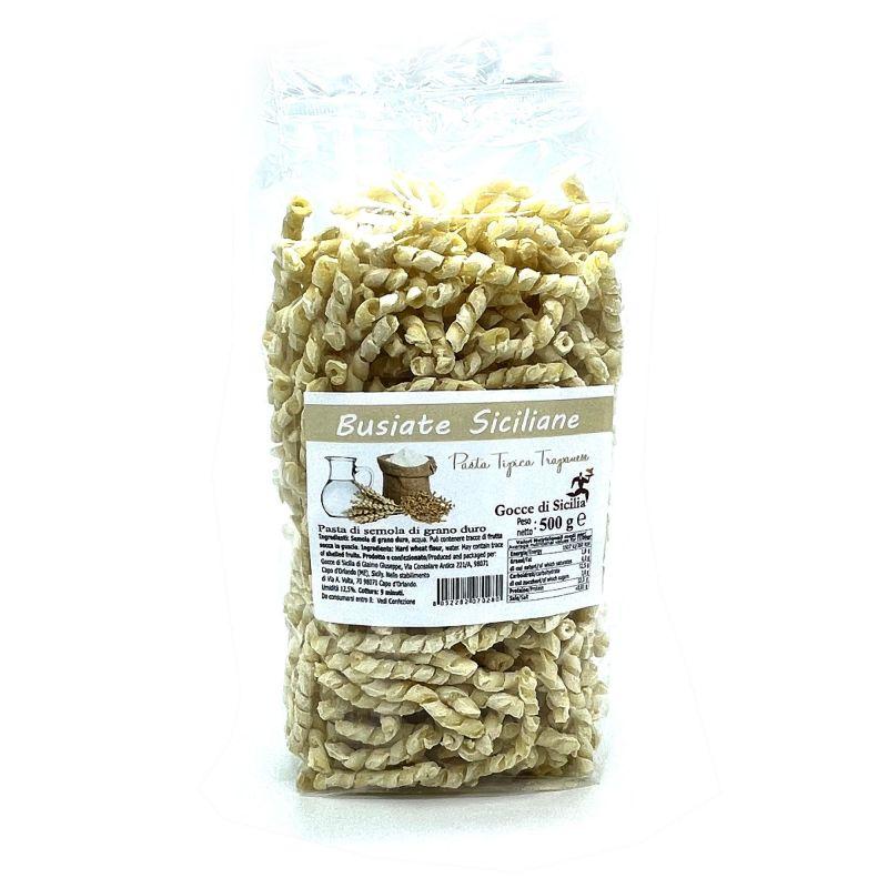 Busiate Trapanesi - Sicilian pasta