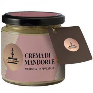 Sicilian spreadable Almond sweet cream By Fiasconaro - 180 g