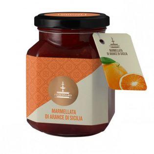 Sicilian orange marmalade 360 g - FIASCONARO