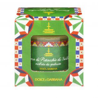 Sicilian spreadable Pistachio sweet cream By D&G. - 180 g