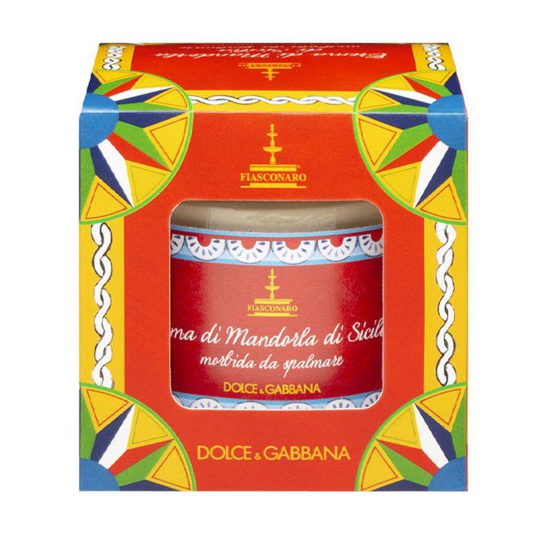 Sicilian spreadable Almond sweet cream By Fiasconaro and D&G. - 180 g