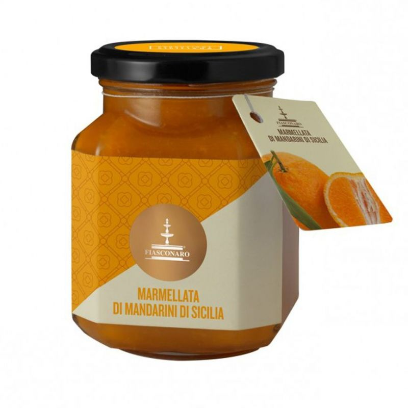 Sicilian Tangerines marmalade 360 g - FIASCONARO
