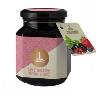 Extra Jam of Berries 360 g - FIASCONARO