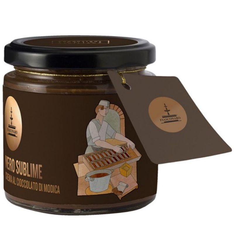 Sicilian Chocolate Spreadable Cream - Nero Sublime by Fiasconaro