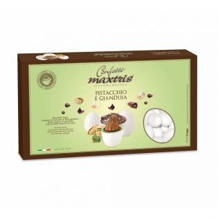 Confetti Maxtris Pistacchio e Gianduia 1Kg