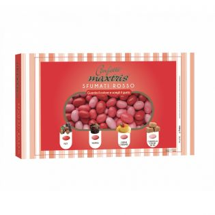 Sfumati Red dragèe Confetti Maxtris