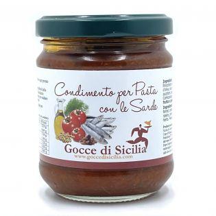 Pasta con le Sarde - Condimento pronto in vendita online