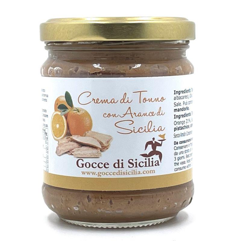 Tuna cream with Sicilian Oranges