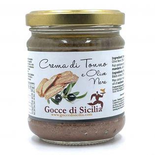 Tuna Cream with Black Olives