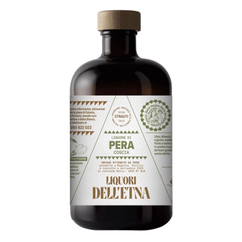 Coscia Pear liqueur from Etna- 50 cl