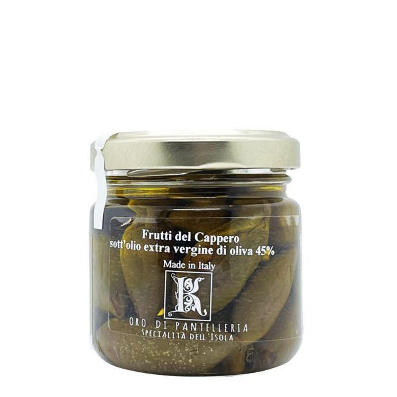 Fruit of the Caper of Pantelleria in Salt