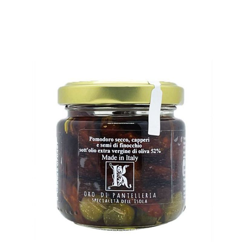 Dried Tomatoes, Capers and Fennel Seeds