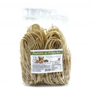 Tagliolini al pistacchio (Spaghetti chitarra)